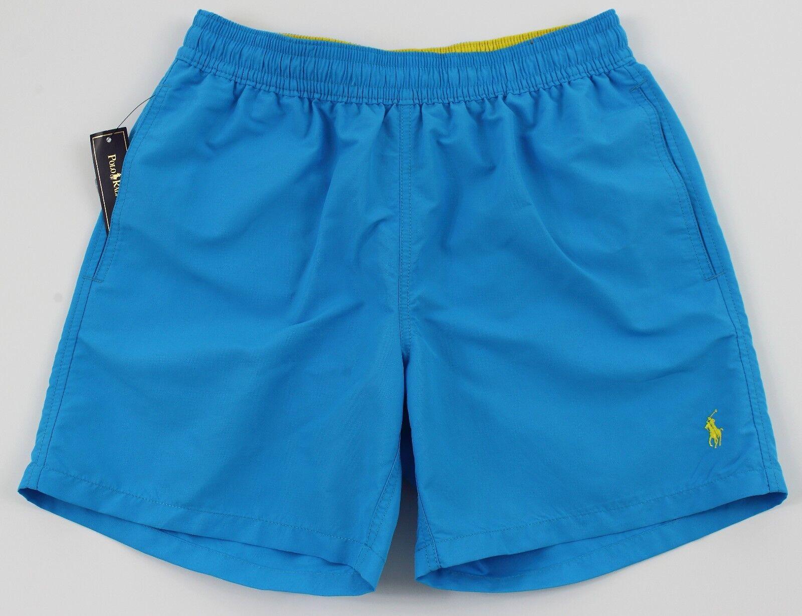 Men's POLO RALPH LAUREN Aqua Turquoise Swimsuit Trunks XL XLarge NWT NEW 4106174