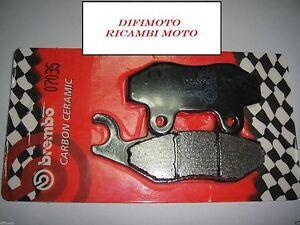 PASTIGLIE FRENO ANTERIORI BREMBO CARBON CERAMIC 07035 PEUGEOT GEOPOLIS 300 2013
