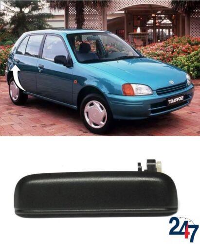 NUOVO Toyota Starlet 1996-1999 Esterna Porta Posteriore Esterno Maniglia Nero Destra O//S