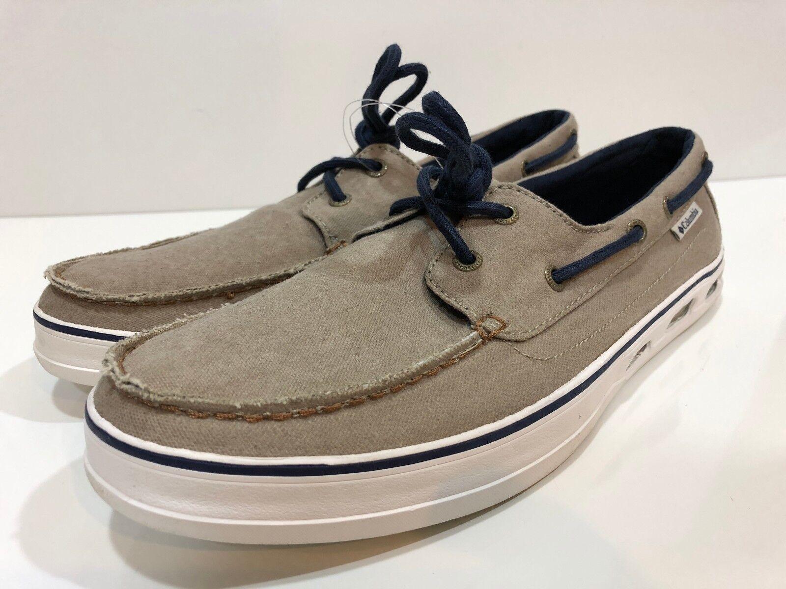 Columbia Vulc N Vent Men's Shore Lace Boat shoes Size 9.5 M