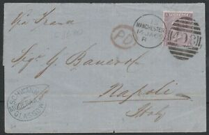 1869-SG97-6d-LILAC-PLATE-6-COVER-MANCHESTER-TO-NAPOLI-ITALY-FA