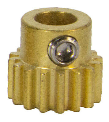16 Tooth, 32 Pitch, 1/4 inch Bore Pinion Gear Part # 615242 By ServoCity