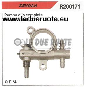 R200171 Bomba de Aceite Completo Motosierra Zenoah G2500 TV Alta Calidad