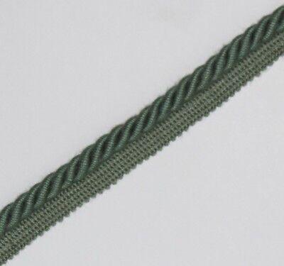 Legatura Flangiato/tubazioni Cavo Di 8 Mm, Verde X 10 Metri, Gratis P&p - Pl-3131- Valore Eccezionale