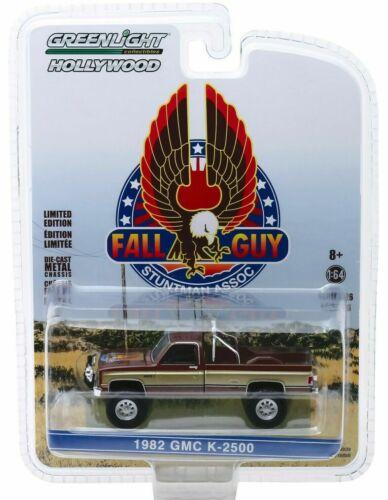 1982 GMC K-2500 FALL GUY Colt Seavers Ein Colt für alle Fälle* Greenlight 1:64
