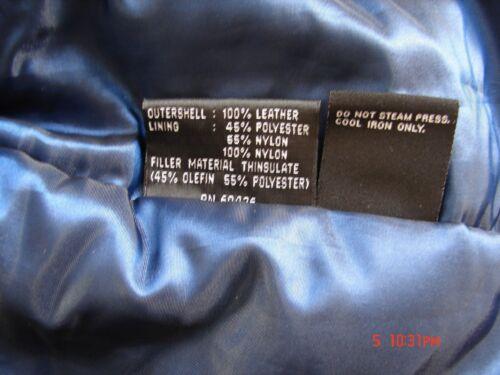 Kvinder Leather Aftagelig Black Liner Størrelse Wilsons Med Jakke Thinsulate S HBEgw