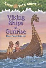 Magic Tree House (R): Viking Ships at Sunrise 15 by Mary Pope Osborne (1998, Paperback)