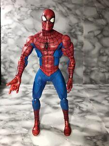 "2005 Toy Biz Marvel 12"" Spider Man Action Figure 27 Points Of Articulation"