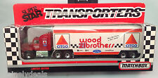 1992 MB Super Star Transporters - Wood Brothers #21! NIB!