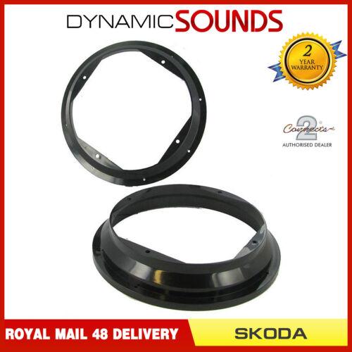 Rear Door Speaker Adaptor Ring 20cm 200mm For Skoda Fabia CT25VW02 Front