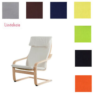 Details about Customize Armchair Cover, Replacement Cover, Fits IKEA Poang Chair, 28 fabrics