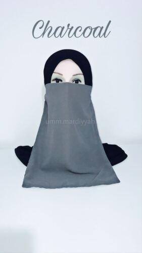 Elastic Half Niqab Various Colours VEIL