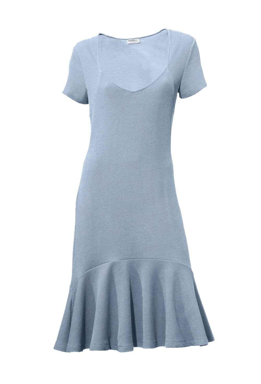 TCJ TCJ TCJ Class International Sexy Kleid Designerkleid Bodyformingkleid hellblau 36-46 | Elegant Und Würdevoll  | Roman  | Verwendet in der Haltbarkeit  098fa7