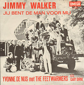 YVONNE-DE-NIJS-MET-THE-FEETWARMERS-Jimmy-Walker-1966-NEDERPOP-SINGLE-7-034