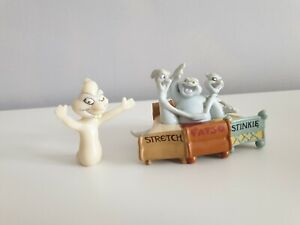 Vintage-90s-Tyco-Casper-ghost-characters-The-Friendly-Ghost-Figures-Rare