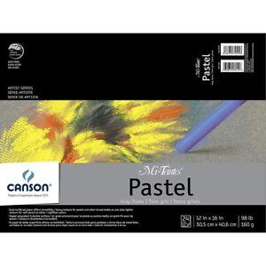 Canson-Mi-Teintes-Gray-Tones-Pastel-Paper-Assortments-12x16-034-12X16-034