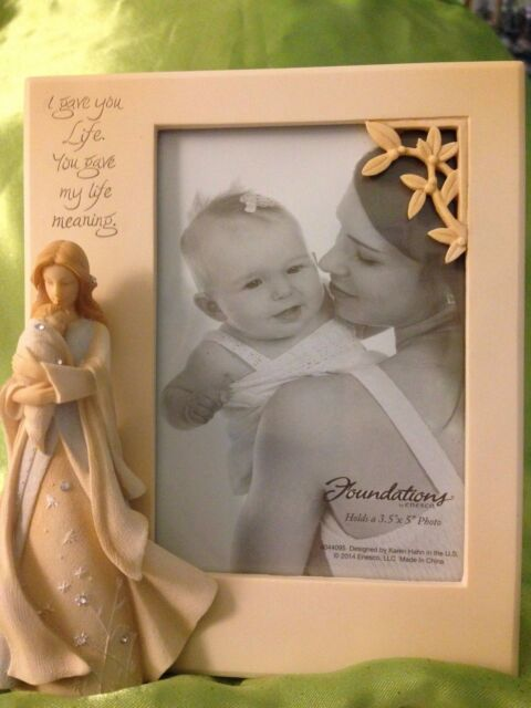 Foundations By Enesco New Baby Photo Frame