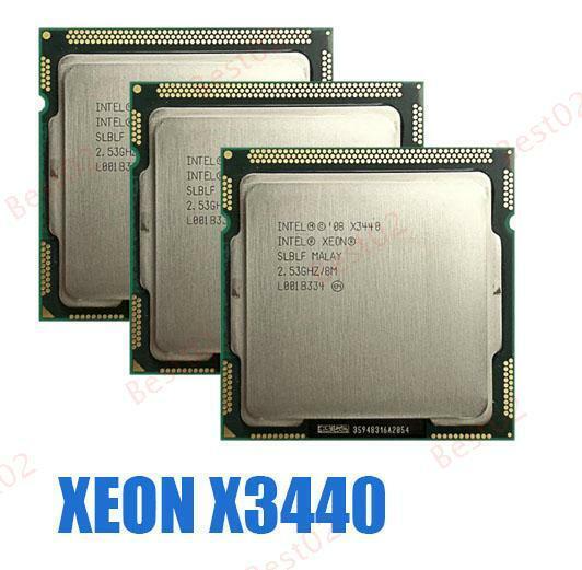 Intel Xeon X3440 SLBLF 2.53GHz Quad Core LGA 1156 CPU Processor *km