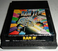RARE Atari 2600 Video Game RAM IT! Vintage Retro TELESYS Game FUN! TESTED! Works