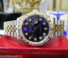 Rolex Datejust 1601 14k Yellow Gold & Steel Automatic Men's Watch