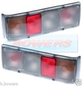 2 x BRITAX 9300 MAYPOLE 379 SWIFT ABBEY CARAVAN MOTORHOME REAR TAIL LAMPS LIGHTS