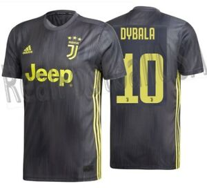 new arrival 18456 4a5fa Details about ADIDAS PAULO DYBALA JUVENTUS THIRD JERSEY 2018/19.