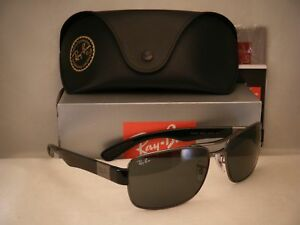 967bcb01f9c Ray Ban 3522 Gunmetal w Grey Lens NEW sunglasses (RB3522 004 71 61mm ...