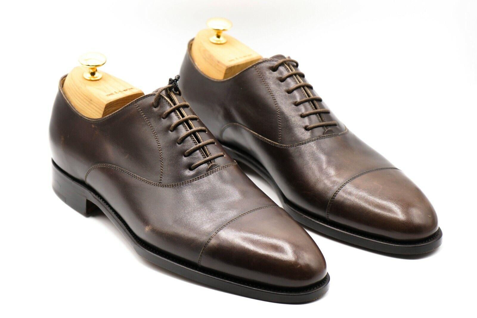 NEW KITON Napoli Dress Leather Shoes Size Eu 43 Uk 9 Us 10 (KIS42)
