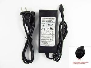 36v Battery Charger For Electric Scooter Ebike Atv Mini Pocket