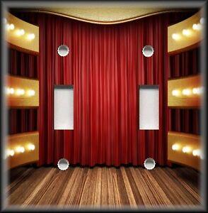 Home theater decor metal