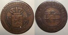 1856 NETHERLANDS EAST INDIES 2 1/2 CENTS