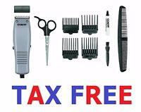 Hair Cut Kit Professional Clipper Barber Salon Hair Cut Electric Trimmer Set 10