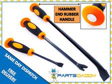3 PIECE HEAVY DUTY JUMBO PRY BAR SET HEAT TREATED PVC HANDLES DIY TOOL NEW 8-2