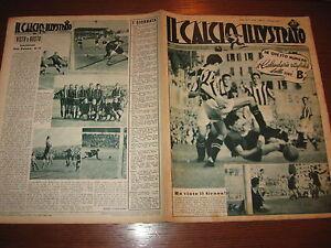 Calendario Serie B Spal.Dettagli Su Il Calcio Illustrato 1948 42 Calendario Serie B Spal Genoa Lucchese Triestina