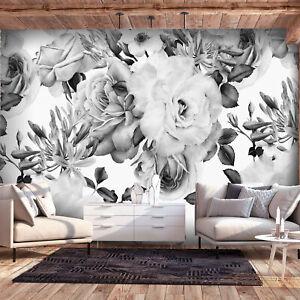 Details zu VLIES FOTOTAPETE 3D effekt Blumen TAPETE Schlafzimmer WANDBILDER  XXL 4 Motiv