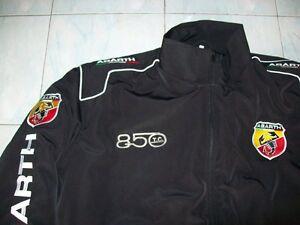 NEU-ABARTH-Fiat-850-TC-Fan-Jacke-schwarz-jacket-veste-jas-giacca-jakka