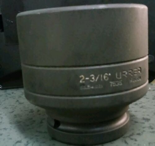 URREA 7535 3//4-INCH DRIVE 6-POINT 2-3//16-INCH IMPACT SOCKET
