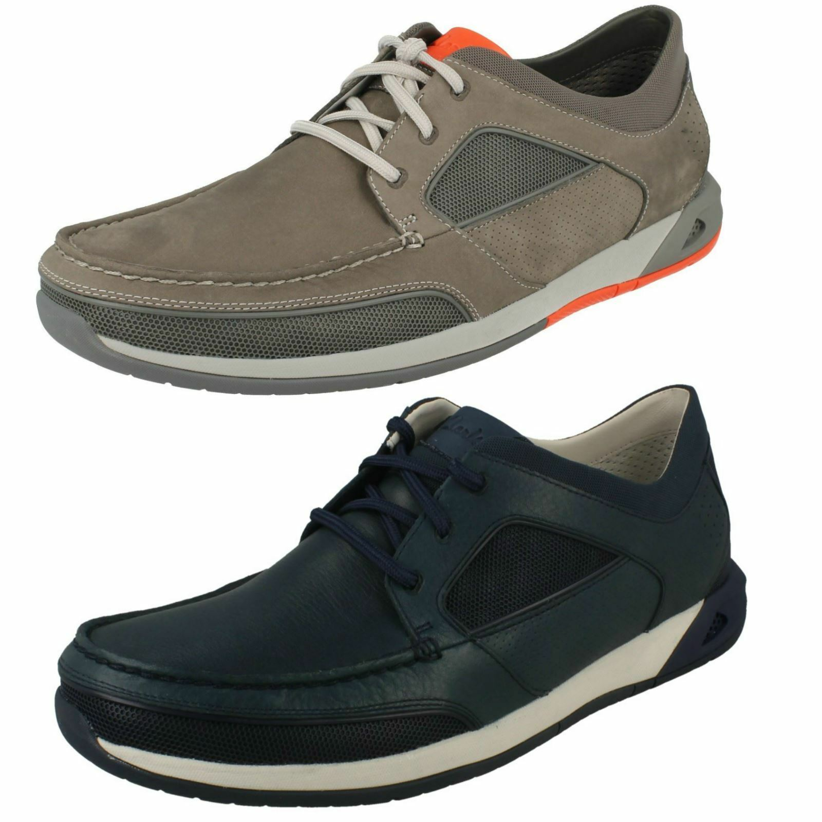 Mens Clarks Ormand Sail Casual Lace Up Moccasin Style shoes