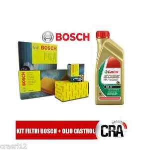 Kit-tagliando-olio-CASTROL-EDGE-0W30-6LT-4-FILTRI-BOSCH-BMW-118D-E81-122-CV