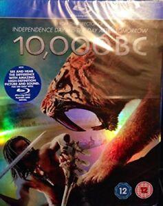 10,000 BC [Blu-ray] - DVD  PMVG The Cheap Fast Free Post 7321909139671