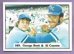 Little Known George Brett Rookie Card 589 Vintage 1975 Sspc