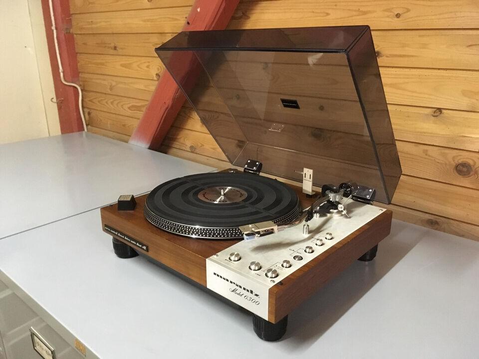 Marantz 6300 – toprestaureret vintage pladespil...