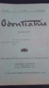 Rivista-Mensile-Odontiatrie-N-67-7-Eme-Anni-1930-ABE