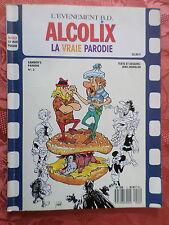 Pastiche Astérix & Tintin ; Alcolix La vraie parodie - Tintin à Beyrouth E.O. 89