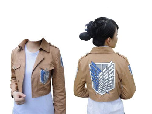 Attack on Titan Survey Corps Jacket Uniform Coat Costume Cosplay NEW
