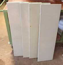 Four x Grey Dexion Spare Metal Shelves 100cms x 29.5 cms Tall Cupboard Shelf SLD