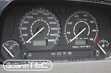 PLASMA TACHO Tachoscheiben SET VW Golf 3 16V VR6 20-260 km/h SCHWARZ-WEISS NEU