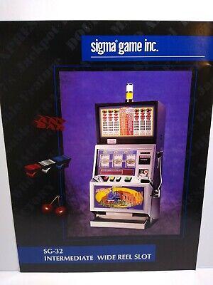 Sigma Slot Machine FLYER Intermediate Wide Reel Casino