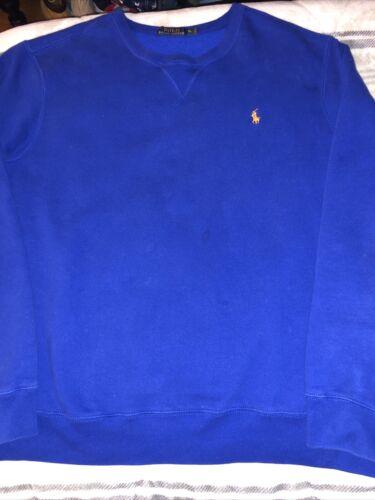 Polo Ralph Lauren Crew Neck Sweatshirt Royal Blue