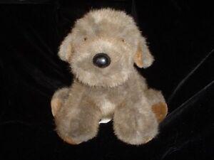 Dakin Dog Stuffed Animal Plush Brown Toy 10 Inch Vintage 1986